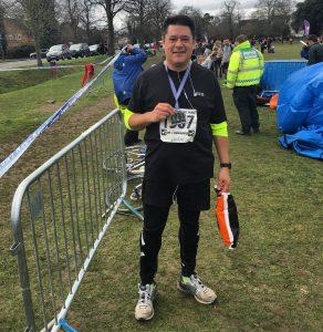 Forkgen half marathon
